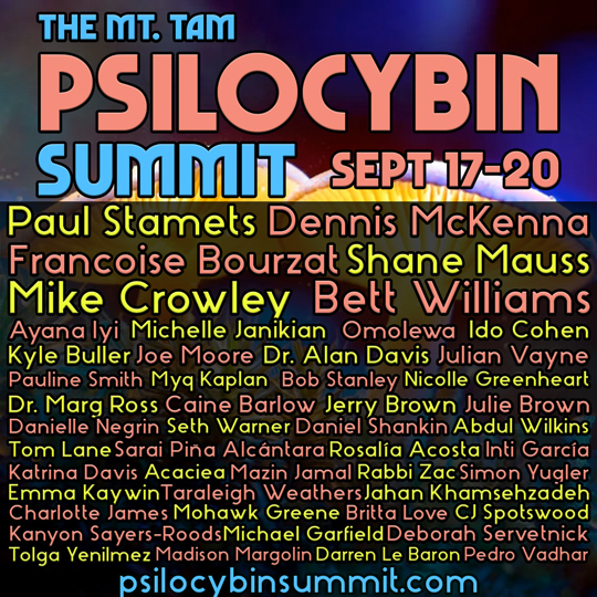 2020 Psilocybin Summit